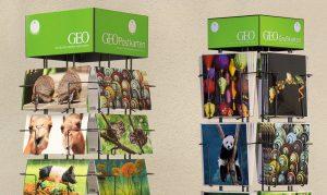 beeindruckende GEO-Postkarten