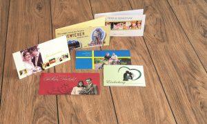 individuelle Hochzeitsdrucksachen