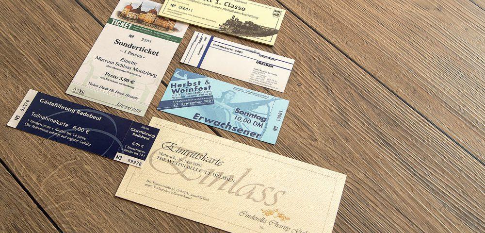 Ein Muss für Veranstaltungen. Von Abiball bis Festival – wir bieten individuelle und vielseitig einsetzbare Eintrittskarten und Coupons.